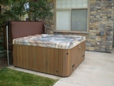 Color Matched Hot Tub