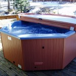 Hot Tub in the Winter